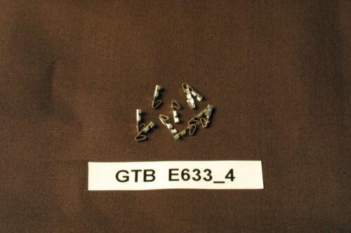 LOT DE 10 CONNECTEUR E633-4 POUR FLIPPER GOTTLIEB