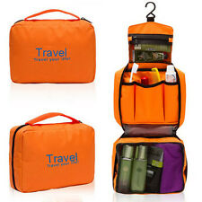 Travel/Camping Wash Toiletry Bag Makeup Case Hanging Grooming Mens/Ladies 18X3Q