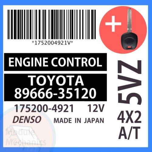 89666-35120 W// PROGRAMMED TRANSPONDER KEY 2000 00 Toyota 4Runner OEM ECU ECM BCM