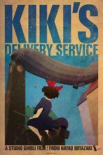 POSTER KIKI DELIVERY SERVICE CONSEGNE A DOMICILIO HAYAO MIYAZAKI STUDIO GHIBLI 4