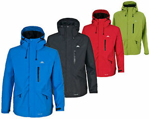 RRP £55! TRESPASS NEW MENS CORVO LIGHTWEIGHT BREATHABLE WATERPROOF ...