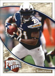 2009-Upper-Deck-Heroes-Football-1-269-Your-Choice-GOTBASEBALLCARDS