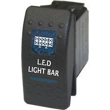 Rocker switch 507B 12V LED light bar ON/OFF BLUE POLARIS RZR CREW RANGER
