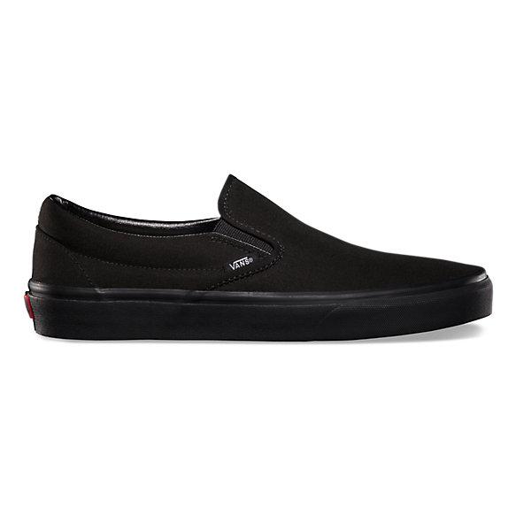Nouveau dans la boîte Vans Classic Slip-on noir noir VN 000 Eyebka pour femmes