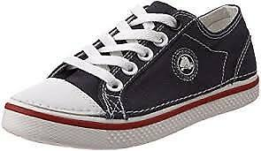 Crocs-Kid-039-s-Hover-Canvas-Lace-Up-Sneaker-Little-Kid-Navy-Red-White-Size-1-M