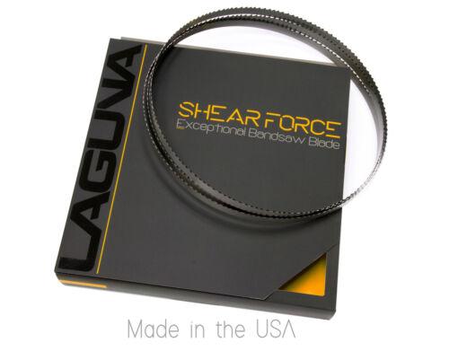 "1//2/"" X 3-4 TPI X 102/"" Shear Force BandSaw Blade Laguna Tools Resaw blade"