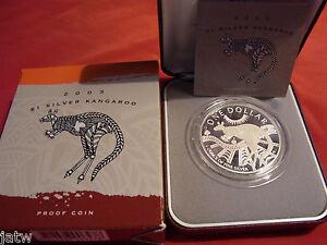 Australia-2003-1-Kangaroo-1oz-Silver-Proof-Cased