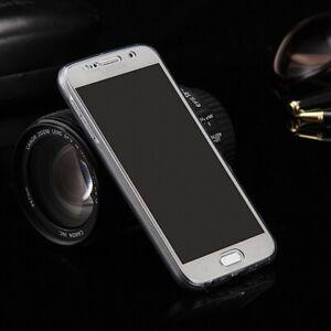 LG-G6-Funda-Estuche-Movil-Bolsa-de-Proteccion-360-Protectora-Paragolpes-Gris