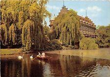 BG5991 cygne swan restaurant cafe  gladbeck wasserschloss wittringen   germany