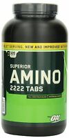 Optimum Nutrition Superior Amino 2222 Tablets, 320 Count, New, Free Shipping on sale