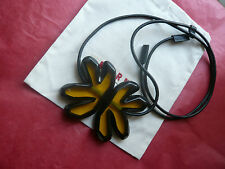 BEAUTIFUL BLACK MARNI NECKLACE - NEW DUSTBAG