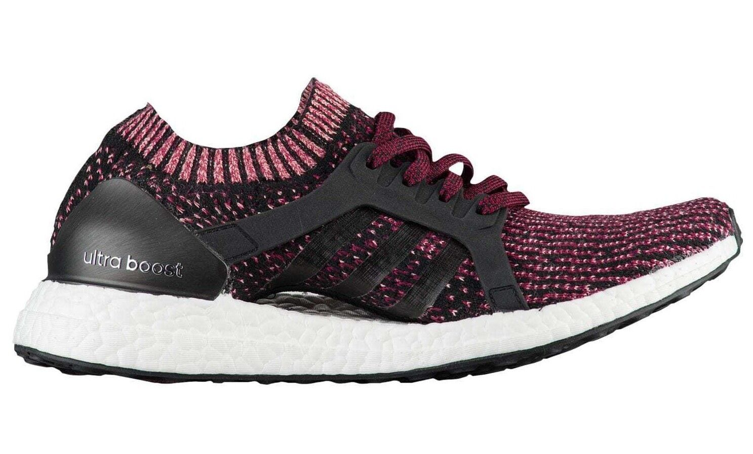 Adidas ULTRABOOST X Core Black Mystery Ruby Running BY1674 (462) Women's shoes