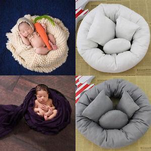 4Pcs-Set-Baby-Newborn-Pillow-Basket-Filler-Wheat-Donut-Photography-Props-DEMY