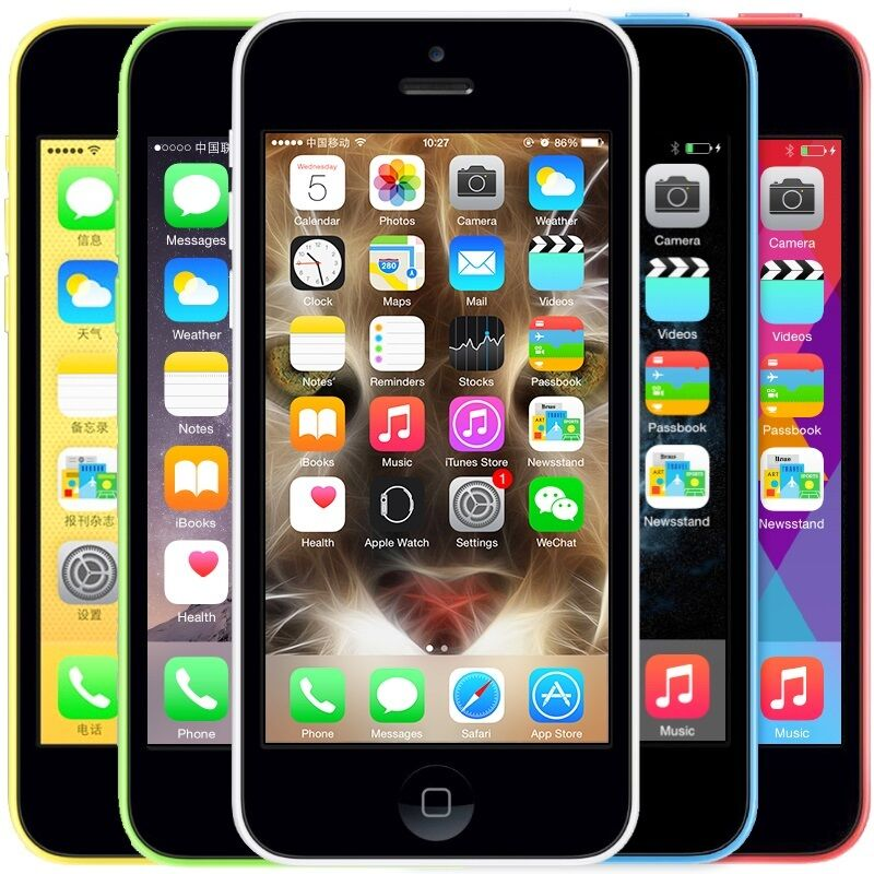 Apple iPhone 5C 32GB Verizon / Unlocked GSM 4G LTE 8MP ...