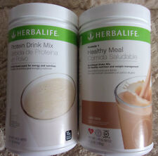 HERBALIFE PROTEIN DRINK MIX + FORMULA 1 HEALTHY MEAL (MULTI FLAVORS) New Stock!