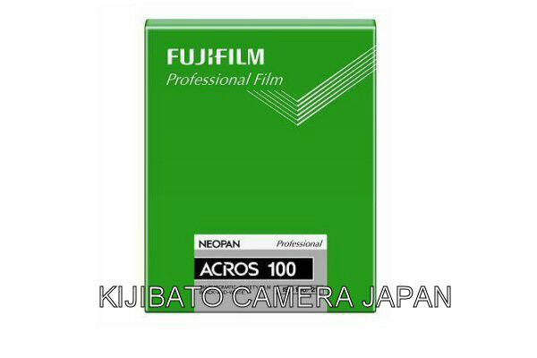 "Fuji Neopan 100 ACROS B/W negative 4x5"" Film 20 sheets NEW PACKAGE Released 2013"