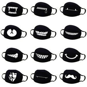 d62ad0976e4 Unisex Cotton Anime Mouth Face Mask Anti-Dust Cycling Respirator ...