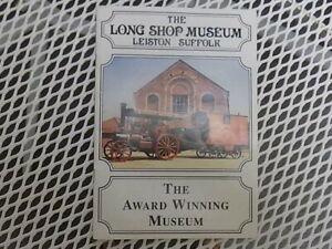 Sportif La Longue Shop Museum Leiston Suffolk, Museum Guide Book-afficher Le Titre D'origine