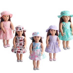 Fits18-inches-American-Girl-fashion-Doll-Clothes-dress-Madame-Alexander-Handmade
