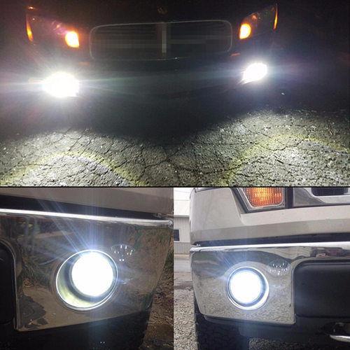 9145 9140 LED Fog Light Bulbs 80W for Ford F-150 1999-2018 F-250 2001-2015 6000K