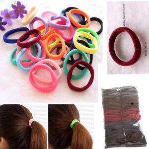 50Pcs-Women-Girls-Hair-Band-Ties-Rope-Ring-Elastic-Hairband-Ponytail-Holder-m9