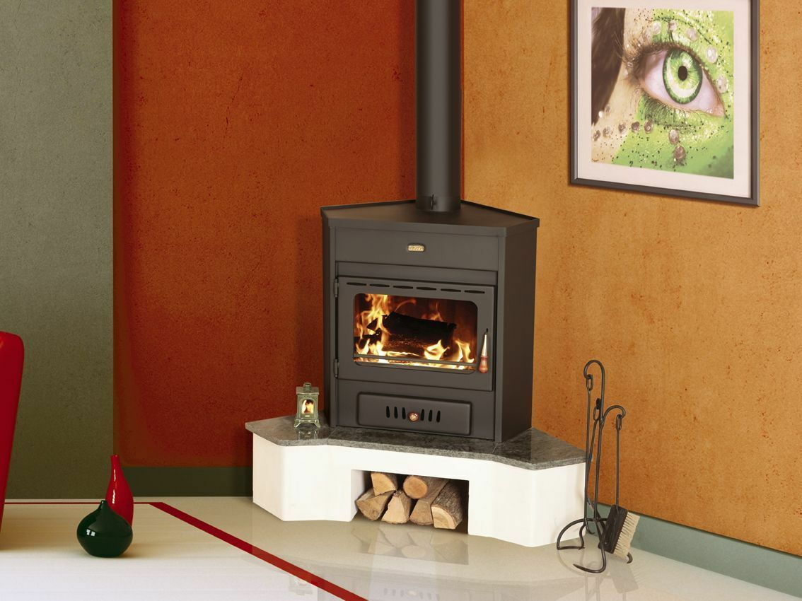 new 12kw corner model multi fuel wood burning stove woodburning