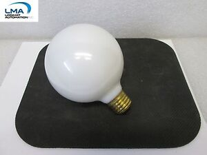 SPECTRO-40G30WH-40W-WHITE-GLOBE-BULB-LIGHT-LAMP-130V-ROUND-NEW