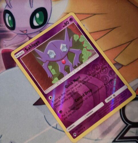 Reverse Holo NM-Mint Lost Thunder Uncommon 96//214 Pokemon Sableye
