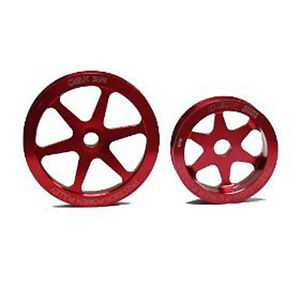 OBX-Red-Overdrive-Pulley-Kit-for-97-99-Acura-CL-94-02-Honda-Accord-2-2-2-3L