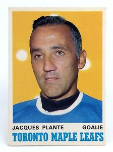 1969-70-Jacques-Plante-222-Toronto-Maple-Leafs-OPC-O-Pee-Chee-Hockey-Card-H453