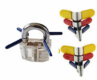 6 X Wing Clips Padlock Shims Lock Open Combination Lock Combination Lock