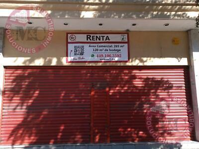 Renta de local comercial en Zona Centro de Aguascalientes, a una cuadra de la plaza.
