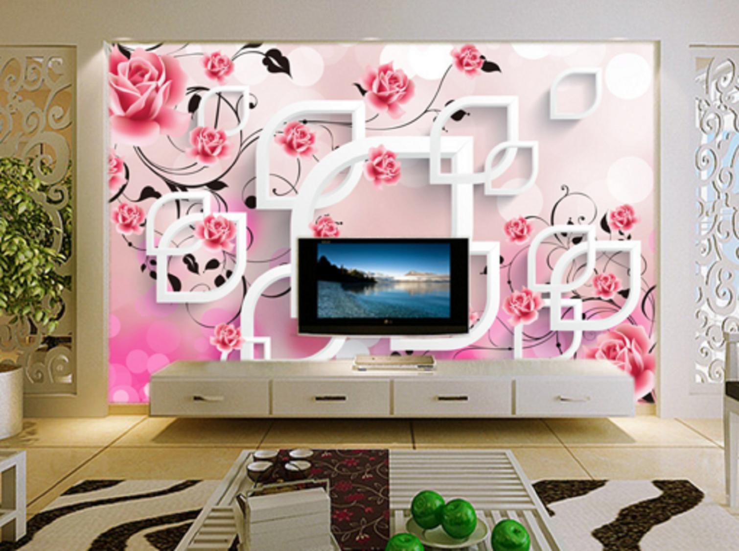 3D Rosen Blüten Serie 56 Tapete Tapeten Mauer Foto Familie Tapete Wandgemälde