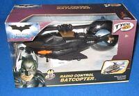 Tyco Rc Batman Little Rides Radio Control Batcopter 27 Mhz M0665
