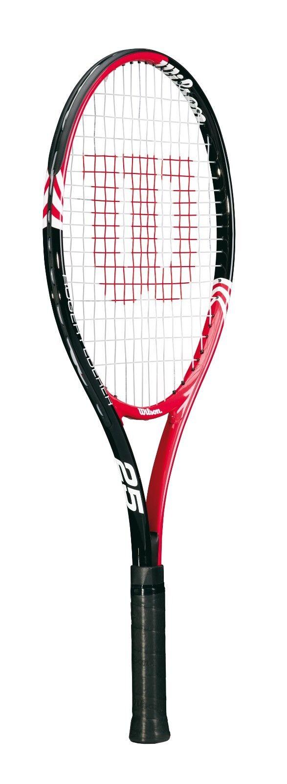 Wilson Roger Federer 25 Red//Black Kinderschläger