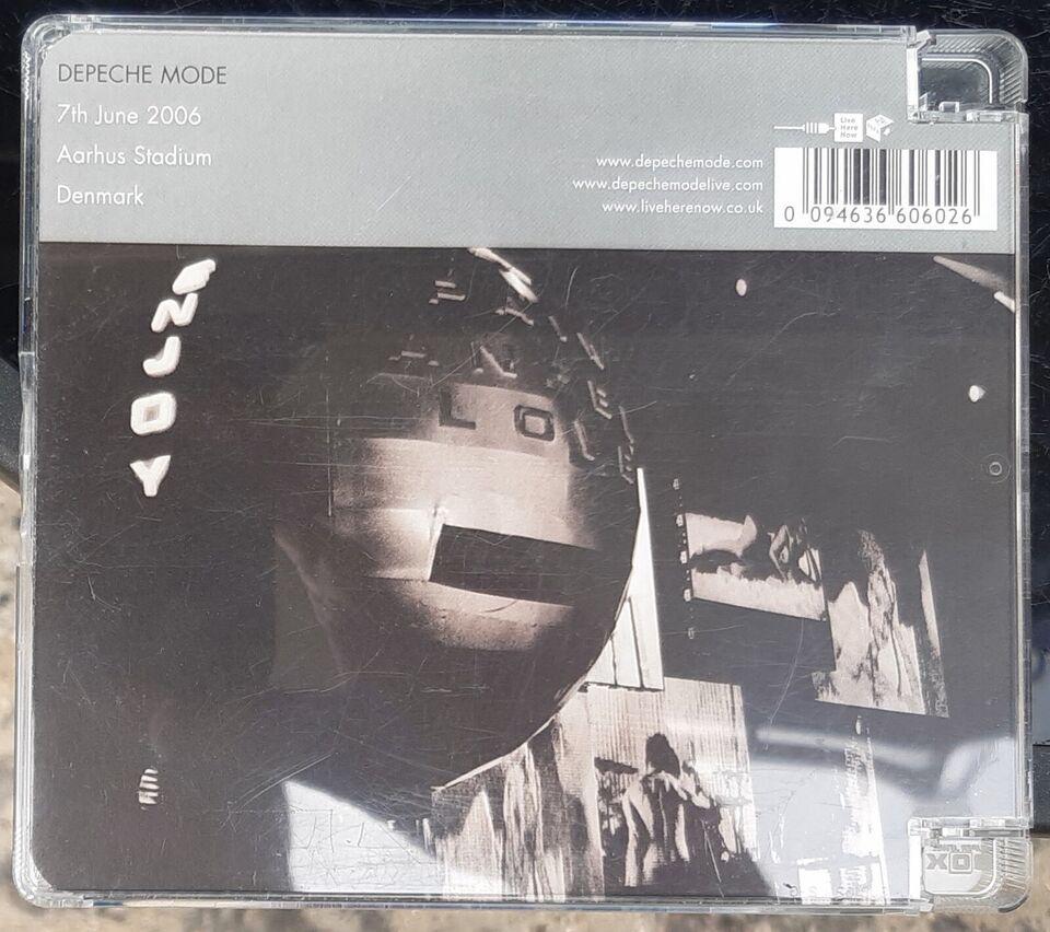 Depeche Mode: Århus Stadium 7 juni 2006, electronic