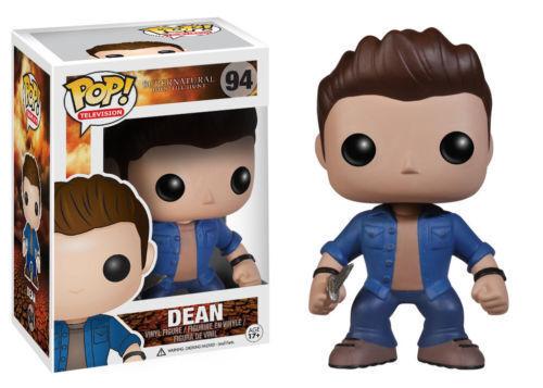 Supernatural Dean Winchester Funko Pop Vinyl Figure de Collection sous licence NEUF