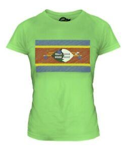 SWAZILAND-SCRIBBLE-FLAG-LADIES-T-SHIRT-TEE-TOP-GIFT-SWAZI-FOOTBALL