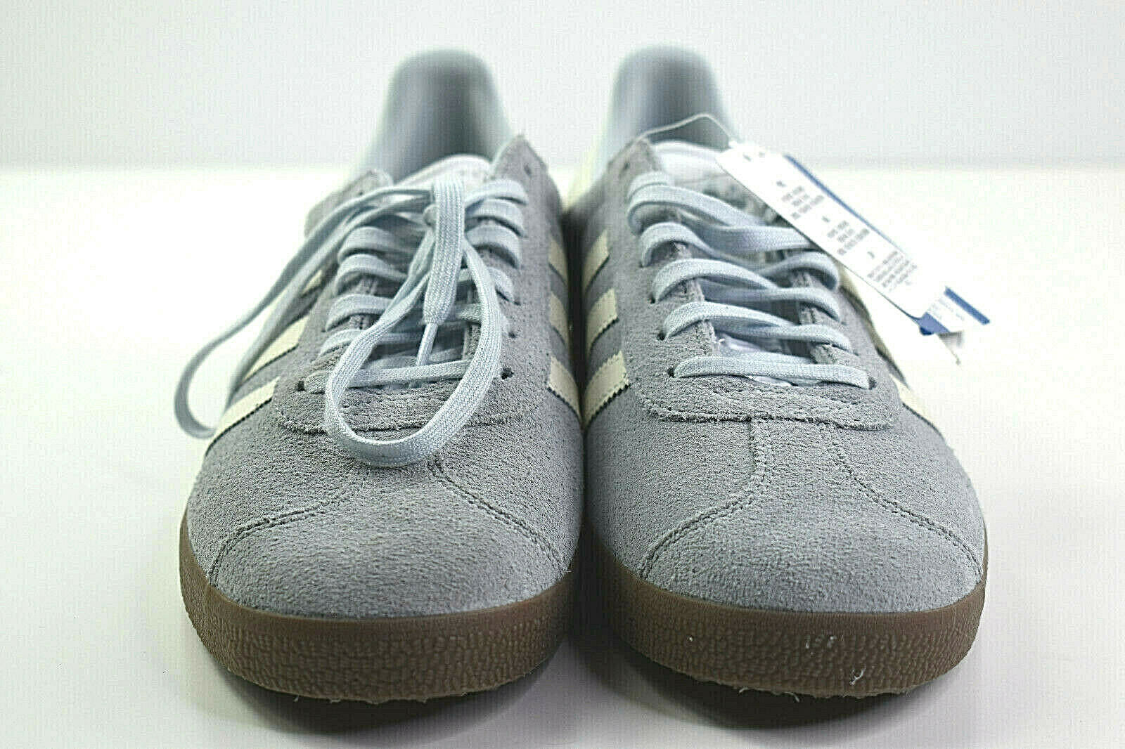 Womens Adidas Suede Gazelle Training Sneaker bluee Tint Tint Tint Cloud White Size 10 47d4f3