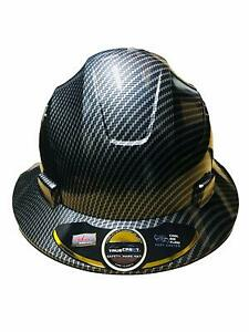 HDPE-Hydro-Dipped-Black-Full-Brim-Hard-Hat-with-Fas-trac-Suspension