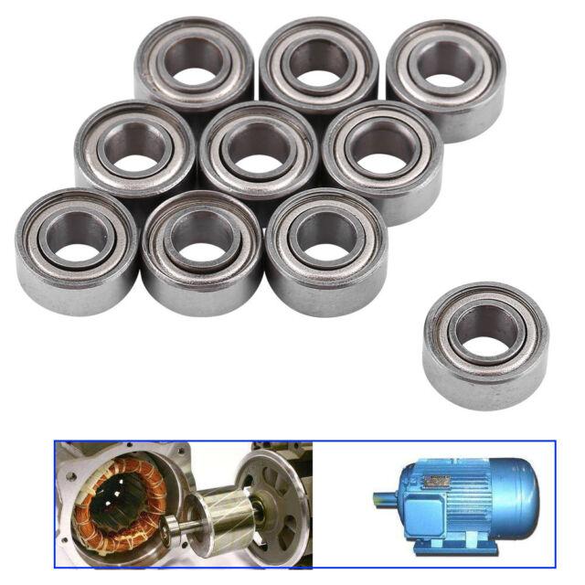 10pcs Steel Double Shielded 685ZZ Miniature Ball Bearings Mini Bearing 5x11x5mm