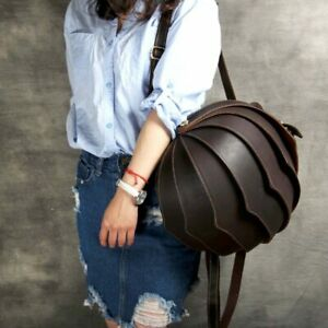 men-and-women-top-layer-leather-pangolin-backpack-personality-beetle-leather