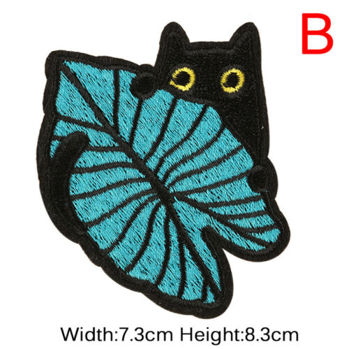 Punk`Embroidery Sew On Iron On Patch Clothes Badge FabricAppliqueCraft-Sticker—H