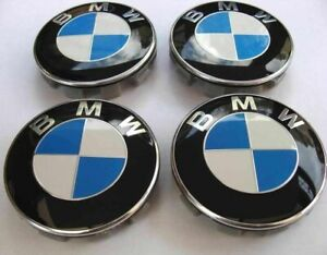 Set-of-4-BMW-Wheel-Centre-Caps-Fits-Most-1-3-5-7-Series-68mm