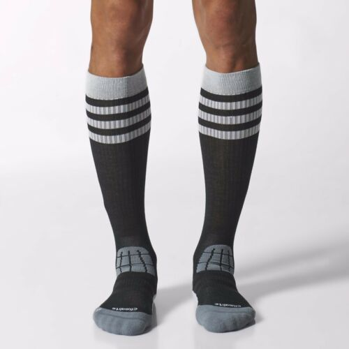 NEW Adidas Mens Climalite Half Cushioned Training Socks Athletic Tennis Run Gym