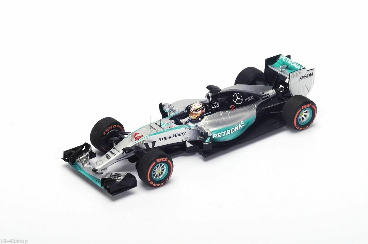 Mercedes Gp F1 W06 #44 Winner Japanese Gp Hamilton 2015 WC Spark 1:43 SJ035