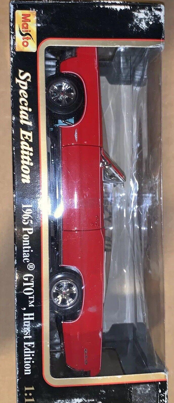 1965 Pontiac GTO Hurst Edition 1 18 Maisto Special Edition Hard To Find NIB