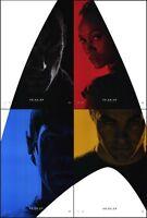 Star Trek (2009) Original Set Of 4 Advance One-sheet Movie Posters - Rolled