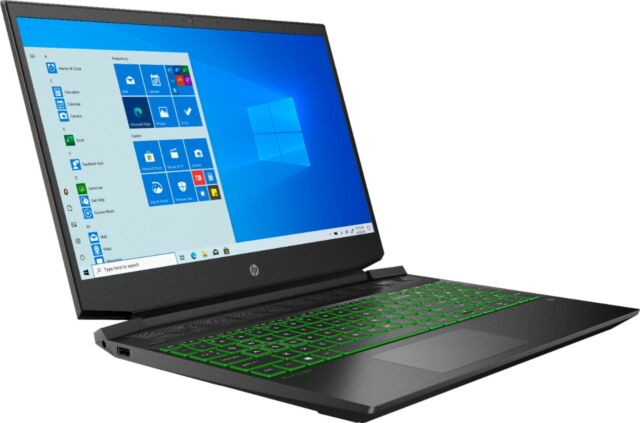 "New HP Pavilion 15.6"" FHD Gaming Laptop Ryzen 5 4600H 8GB 256GB SSD GTX 1650"