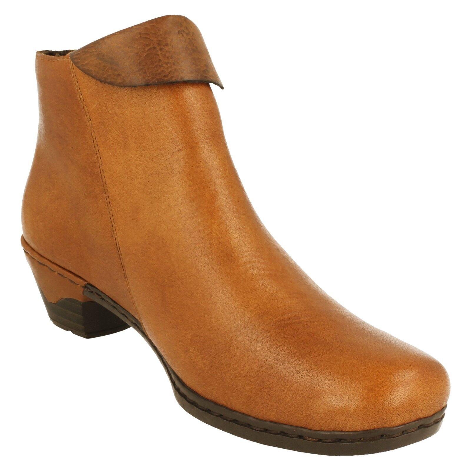 Damas Rieker - botas al tobillo - Rieker 76961 ceb2b9